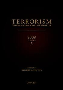 Terrorism: International Case Law Reporter 2009 Volume 2 - cover