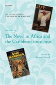The Novel in Africa and the Caribbean since 1950 - cover