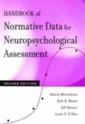 Handbook of Normative Data for Neuropsychological Assessment