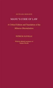 Ebook in inglese Manu's Code of Law: A Critical Edition and Translation of the Manava-Dharmasastra Olivelle, Patrick