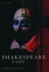 Ebook in inglese Shakespeare N.N, Park Honan