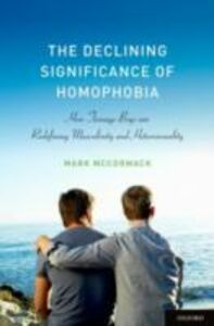 Ebook in inglese Declining Significance of Homophobia McCormack, Mark