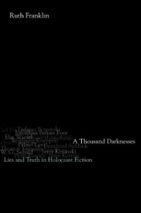 Ebook in inglese Thousand Darknesses: Lies and Truth in Holocaust Fiction Franklin, Ruth