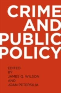 Ebook in inglese Crime and Public Policy