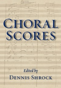 Ebook in inglese Choral Scores -, -