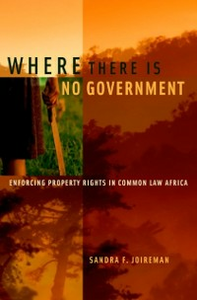 Ebook in inglese Where There is No Government: Enforcing Property Rights in Common Law Africa Joireman, Sandra F.