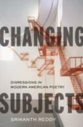 Changing Subjects: Digressions in Modern American Poetry