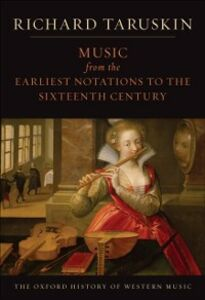 Foto Cover di Music from the Earliest Notations to the Sixteenth Century: The Oxford History of Western Music, Ebook inglese di Richard Taruskin, edito da Oxford University Press