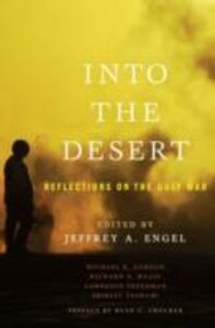 Ebook in inglese Into the Desert: Reflections on the Gulf War -, -