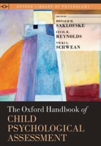 Ebook in inglese Oxford Handbook of Child Psychological Assessment -, -