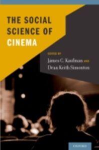 Foto Cover di Social Science of Cinema, Ebook inglese di  edito da Oxford University Press