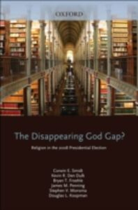 Foto Cover di Disappearing God Gap?: Religion in the 2008 Presidential Election, Ebook inglese di AA.VV edito da Oxford University Press