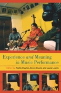 Ebook in inglese Experience and Meaning in Music Performance -, -