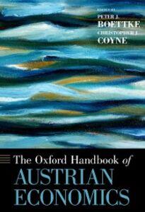 Ebook in inglese Oxford Handbook of Austrian Economics