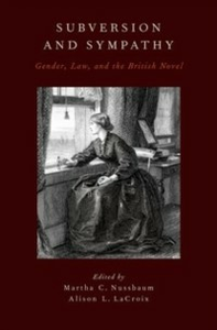 Ebook in inglese Subversion and Sympathy: Gender, Law, and the British Novel -, -
