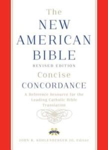 New American Bible Revised Edition Concise Concordance - Confraternity of Christian Doctrine - cover
