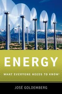 Energy: What Everyone Needs to Know (R) - Jose Goldemberg - cover