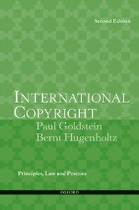 Foto Cover di International Copyright, Ebook inglese di Bernt Hugenholtz,Paul Goldstein, edito da Oxford University Press, USA