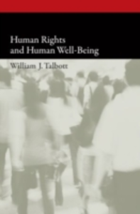 Ebook in inglese Human Rights and Human Well-Being Talbott, William J.