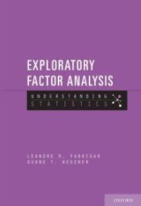 Ebook in inglese Exploratory Factor Analysis Fabrigar, Leandre R. , Wegener, Duane T.