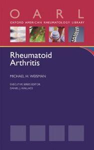 Ebook in inglese Rheumatoid Arthritis Weisman, Michael H.