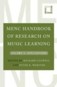 Ebook in inglese MENC Handbook of Research on Music Learning: Volume 2: Applications