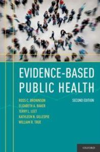 Ebook in inglese Evidence-Based Public Health Baker, Elizabeth A. , Brownson, Ross C. , Gillespie , Leet, Terry L.