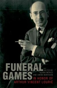 Ebook in inglese Funeral Games in Honor of Arthur Vincent Lourie -, -