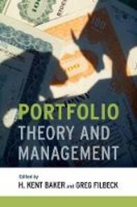 Portfolio Theory and Management - cover