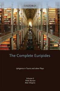 Ebook in inglese Complete Euripides: Volume II: Iphigenia in Tauris and Other Plays