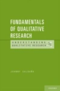 Ebook in inglese Fundamentals of Qualitative Research Saldana, Johnny