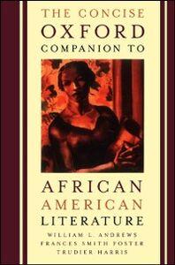 Foto Cover di Concise Oxford Companion to African American Literature, Ebook inglese di  edito da Oxford University Press