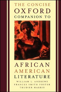 Ebook in inglese Concise Oxford Companion to African American Literature -, -