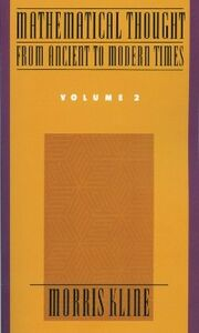 Foto Cover di Mathematical Thought From Ancient to Modern Times, Volume 2, Ebook inglese di Morris Kline, edito da Oxford University Press