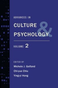 Ebook in inglese Advances in Culture and Psychology: Volume 2 Chiu, Chi-yue , Gelfand, Michele J. , Hong, Ying-yi