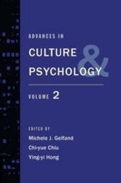 Advances in Culture and Psychology: Volume 2