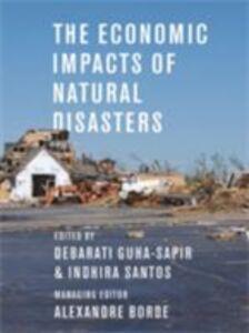 Foto Cover di Economic Impacts of Natural Disasters, Ebook inglese di  edito da Oxford University Press