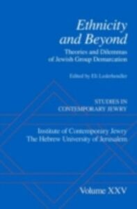 Ebook in inglese Ethnicity and Beyond: Theories and Dilemmas of Jewish Group Demarcation