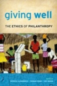 Ebook in inglese Giving Well: The Ethics of Philanthropy