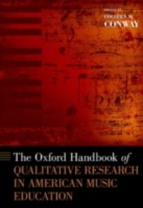 Ebook in inglese Oxford Handbook of Qualitative Research in American Music Education -, -