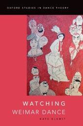 Watching Weimar Dance