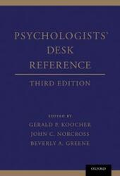 Psychologists'Desk Reference