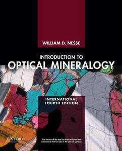 Introduction to Optical Mineralogy - William D. Nesse - cover