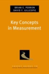 Foto Cover di Key Concepts in Measurement, Ebook inglese di David F. Gillespie,Brian E. Perron, edito da Oxford University Press