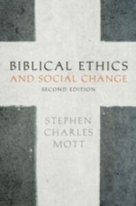 Ebook in inglese Biblical Ethics and Social Change Mott, Stephen