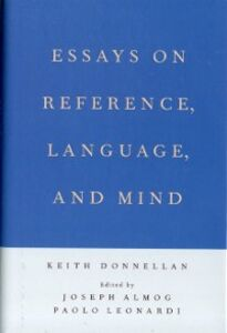 Ebook in inglese Essays on Reference, Language, and Mind Donnellan, Keith