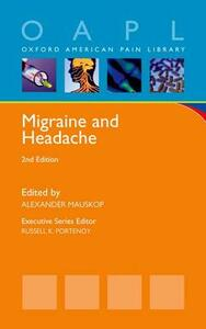 Migraine and Headache - Alexander Mauskop - cover