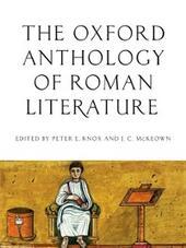 Oxford Anthology of Roman Literature