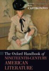Foto Cover di Oxford Handbook of Nineteenth-Century American Literature, Ebook inglese di  edito da Oxford University Press