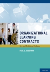 Ebook in inglese Organizational Learning Contracts: New and Traditional Colleges Goodman, Paul S.